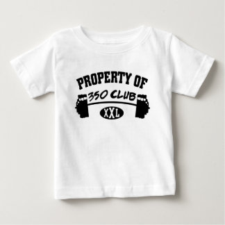 Property Of 350 Club XXL Infant TShirt