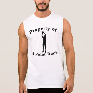 Property Of 3 Point Dept T Shirts