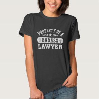 Property of a Badass Lawyer T-shirt