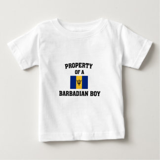 Property of a Barbadian Boy Baby T-Shirt