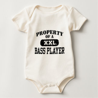 Property of a Bass Player Baby Bodysuit