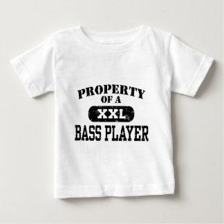 Property of a Bass Player T-shirt