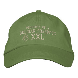 Property of a Belgian Sheepdog Embroidered Baseball Cap