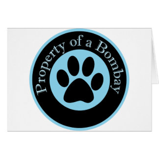 Property of a Bombay Card