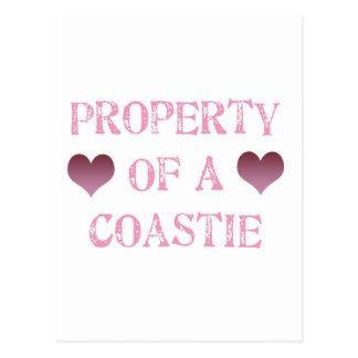 Property of a Coastie Postcard