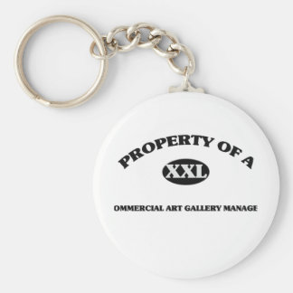 Property of a COMMERCIAL ART GALLERY MANAGER Keychain