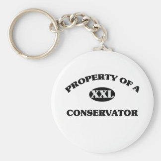 Property of a CONSERVATOR Keychains