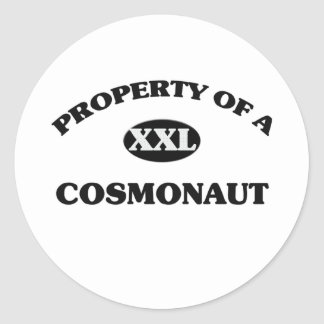 Property of a COSMONAUT Stickers