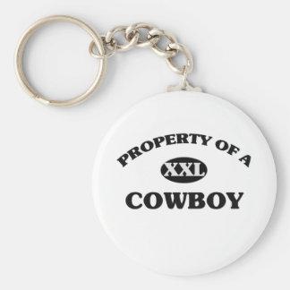 Property of a COWBOY Key Chains