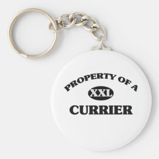 Property of a CURRIER Keychain