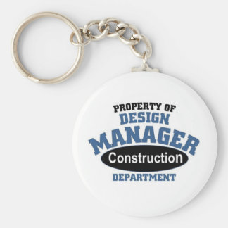 Property of a Design Manager Keychain