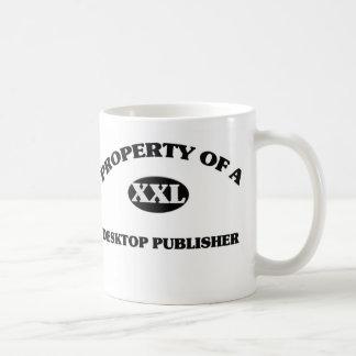 Property of a DESKTOP PUBLISHER Coffee Mug