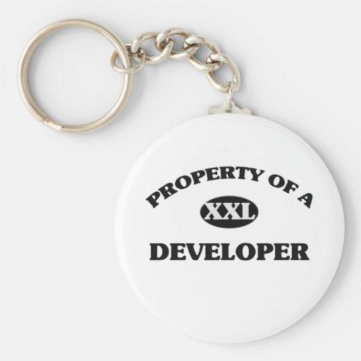 Property of a DEVELOPER Key Chain