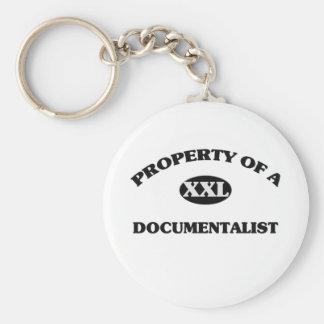 Property of a DOCUMENTALIST Keychains