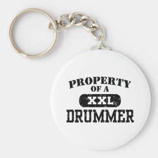 Property of a Drummer Keychain