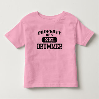 Property of a Drummer Toddler T-shirt
