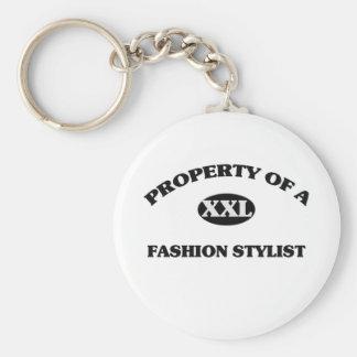 Property of a FASHION STYLIST Keychains