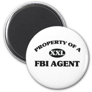 Property of a FBI AGENT Magnet