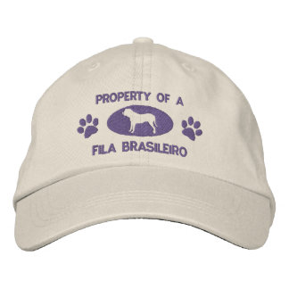 Property of a Fila Brasileiro Embroidered Hat