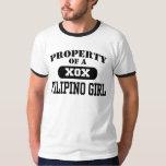 Property of a Filipino Girl Shirt