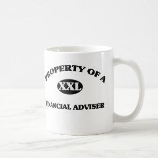 Property of a FINANCIAL ADVISER Coffee Mug