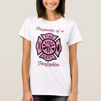 Property Of A Firefighter Great Gift T-Shirt