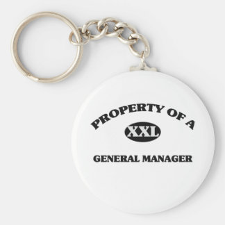 Property of a GENERAL MANAGER Key Chain