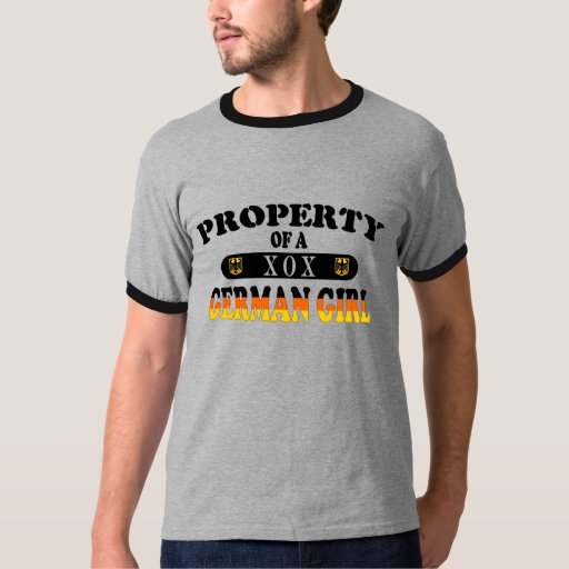 Property of a German Girl T Shirt