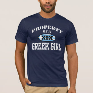Property of a Greek Girl T-Shirt