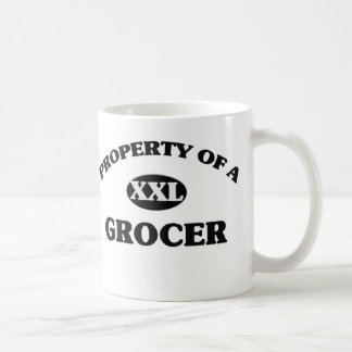 Property of a GROCER Coffee Mugs
