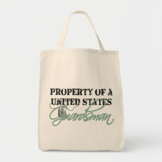 Property of a Guardsman Grocery Tote Bag