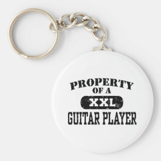 Property of a Guitar Player Key Chains