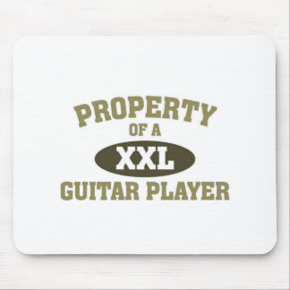 Property of a Guitar player Mouse Pad