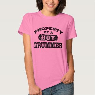 Property of a Hot Drummer Shirt