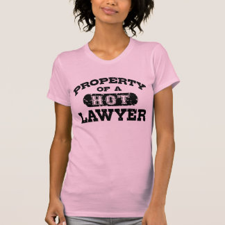 Property of a Hot Lawyer T Shirt