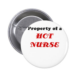 Property of a Hot Nurse Buttons