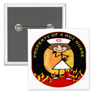 Property of a Hot Nurse Pins