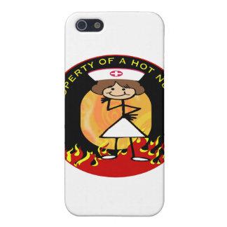 Property of a Hot Nurse iPhone 5 Case