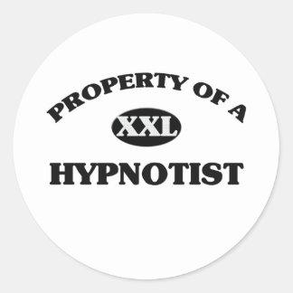 Property of a HYPNOTIST Stickers