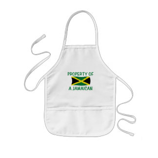 Property of a Jamaican Kids' Apron