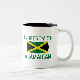Property of a Jamaican Two-Tone Coffee Mug