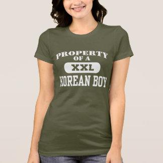 Property of a Korean Boy T-Shirt
