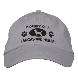 Property of a Lancashire Heeler Embroidered Hat