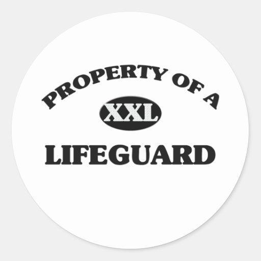Property of a LIFEGUARD Sticker