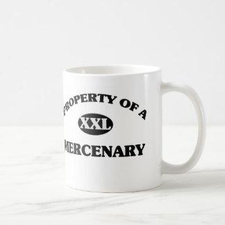 Property of a MERCENARY Classic White Coffee Mug