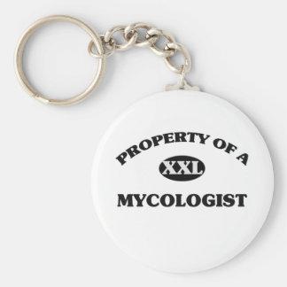 Property of a MYCOLOGIST Key Chain