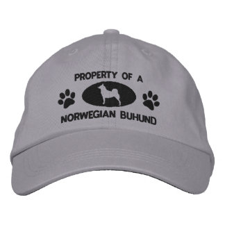 Property of a Norwegian Buhund Embroidered Hat