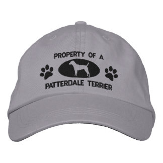 Property of a Patterdale Terrier Embroidered Hat