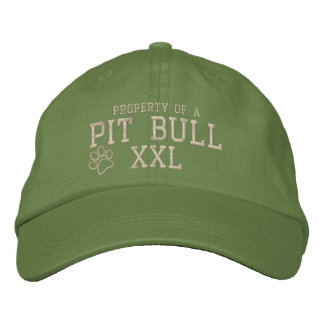 Property of a Pit Bull Embroidered Hat