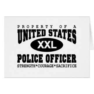 Property of a Police Officer Card